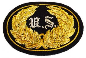 Union Officers Insignia Badge Set